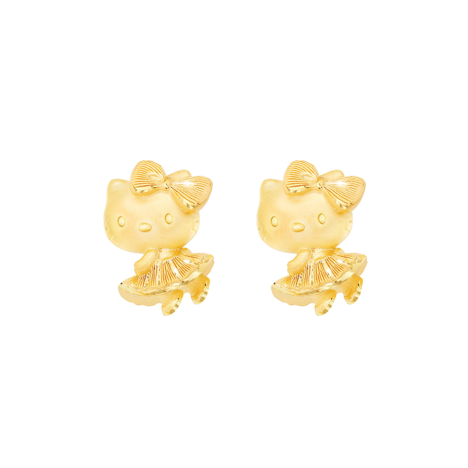 f3d796706 Hello Kitty Skirt Earring – Prima Gold – พรีม่าโกลด์